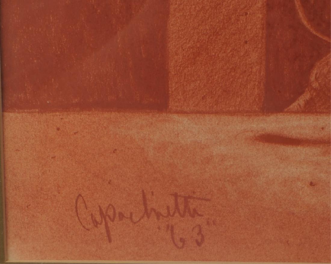 Joseph Capachietti 1963 Lithograph of Child - 3