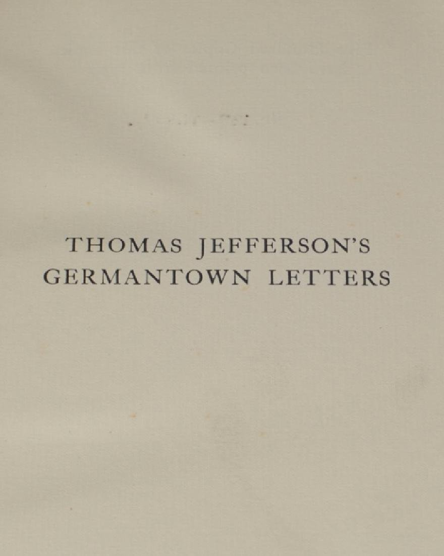 Jefferson's Germantown Letters - 2