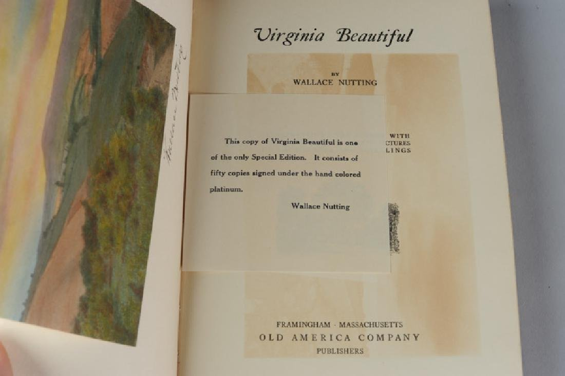 "Wallace Nutting ""Virginia Beautiful"" Signed - 4"