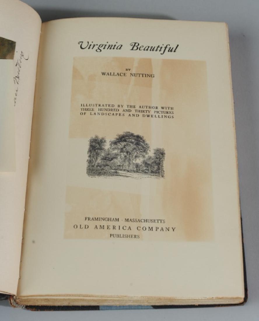 "Wallace Nutting ""Virginia Beautiful"" Signed - 5"