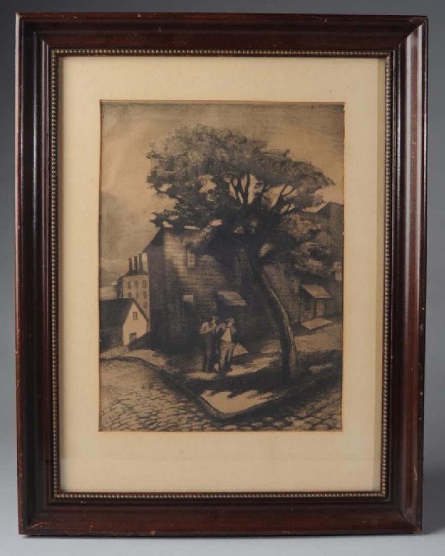 Ann Nooney (1900-1970) Pen & Ink