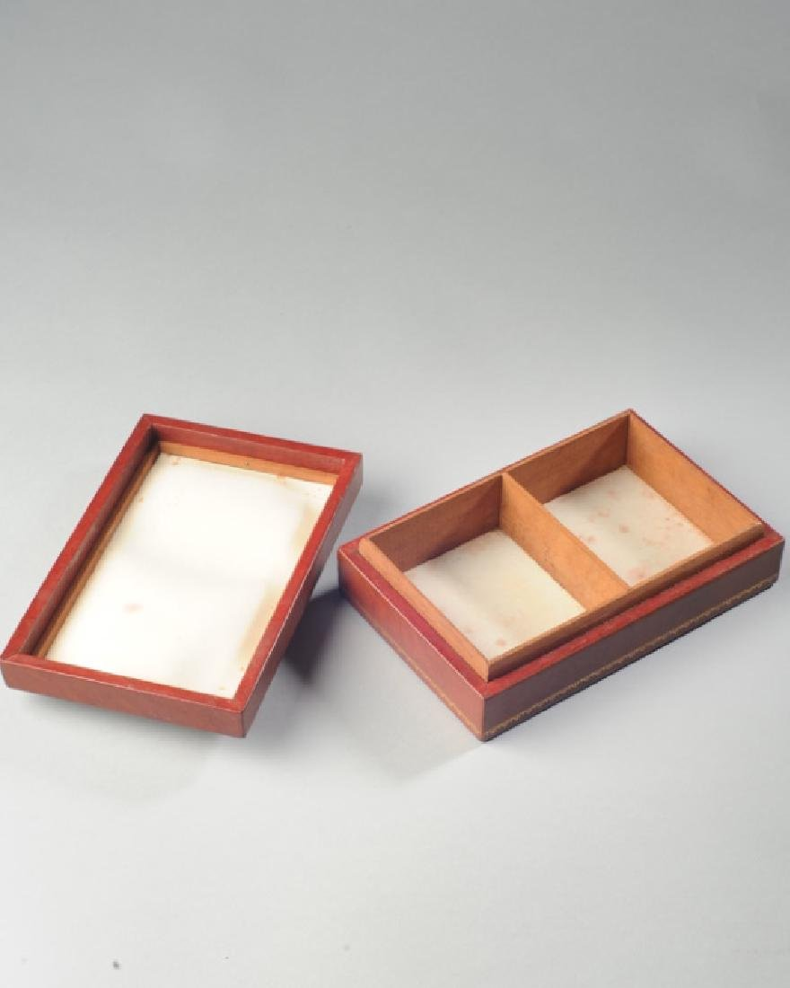 George Washington Medal Leather Box - 2