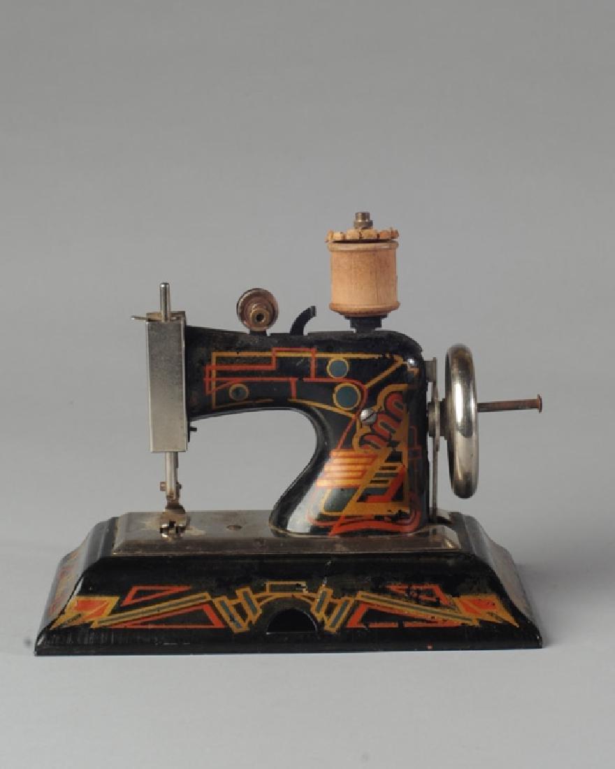Vintage German Casige Child's Sewing Machine
