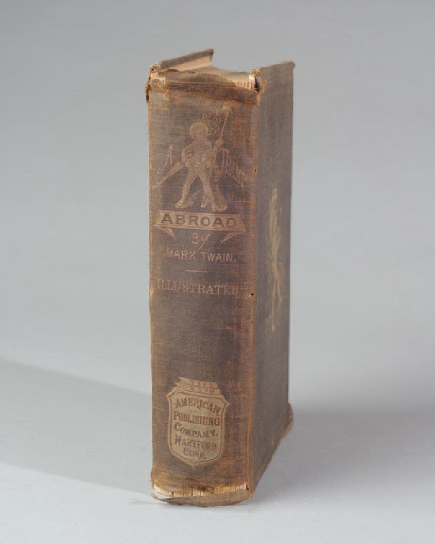 "Mark Twain ""A Tramp Abroad"" First Edition - 2"