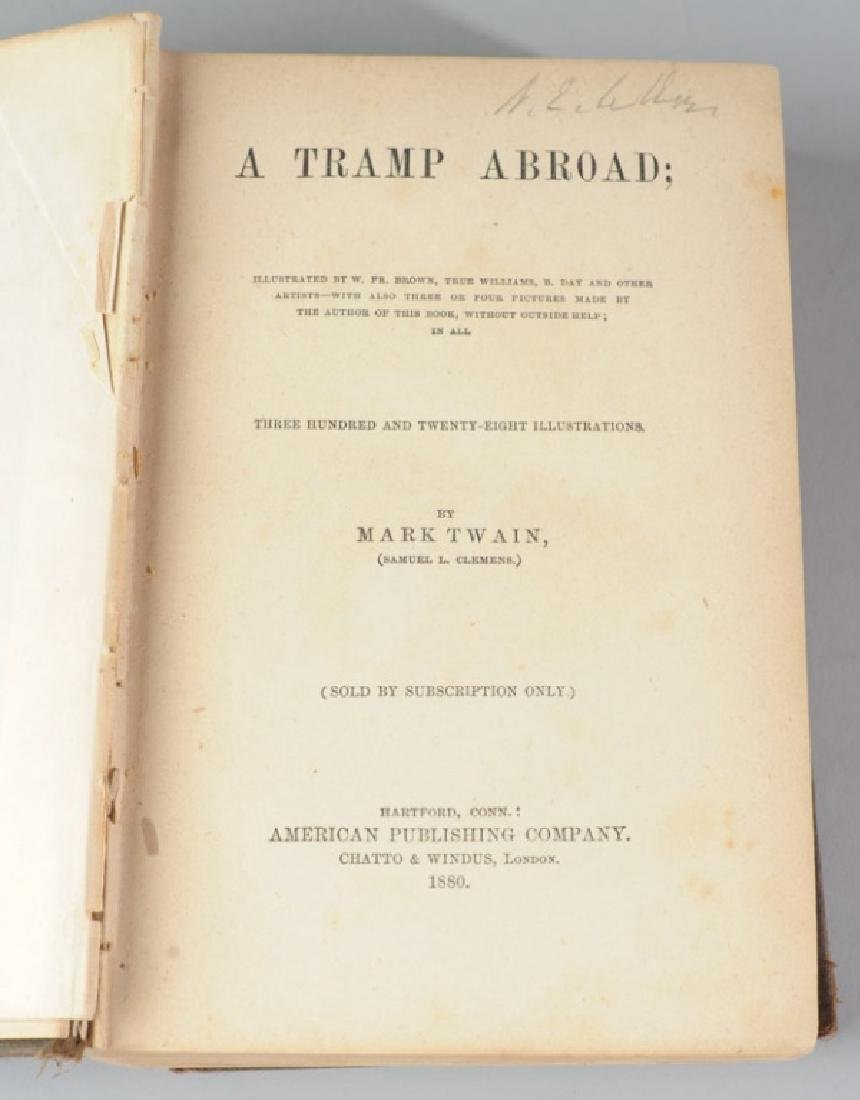 "Mark Twain ""A Tramp Abroad"" First Edition - 4"