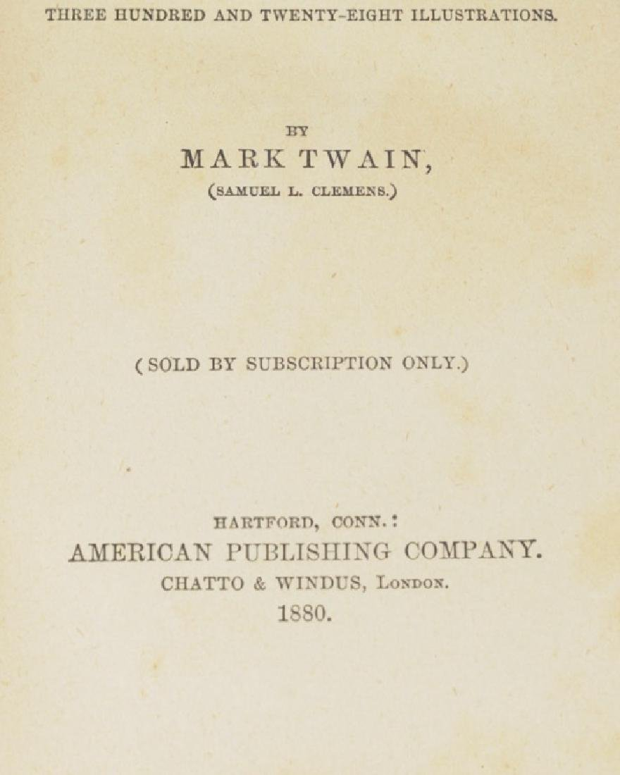 "Mark Twain ""A Tramp Abroad"" First Edition - 5"