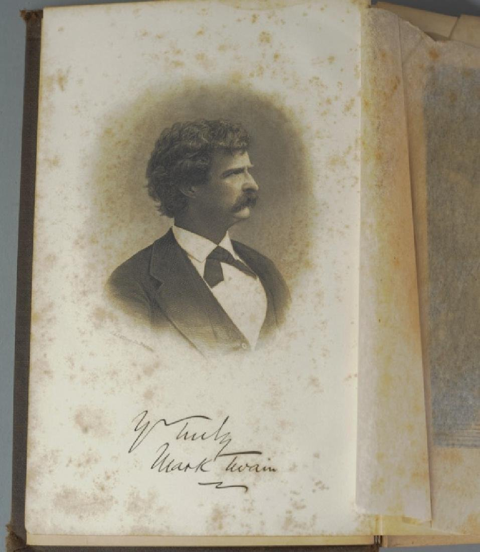 "Mark Twain ""A Tramp Abroad"" First Edition - 6"