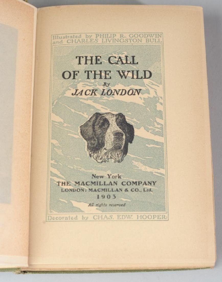 """The Call of the Wild"" by Jack London 1903 - 3"
