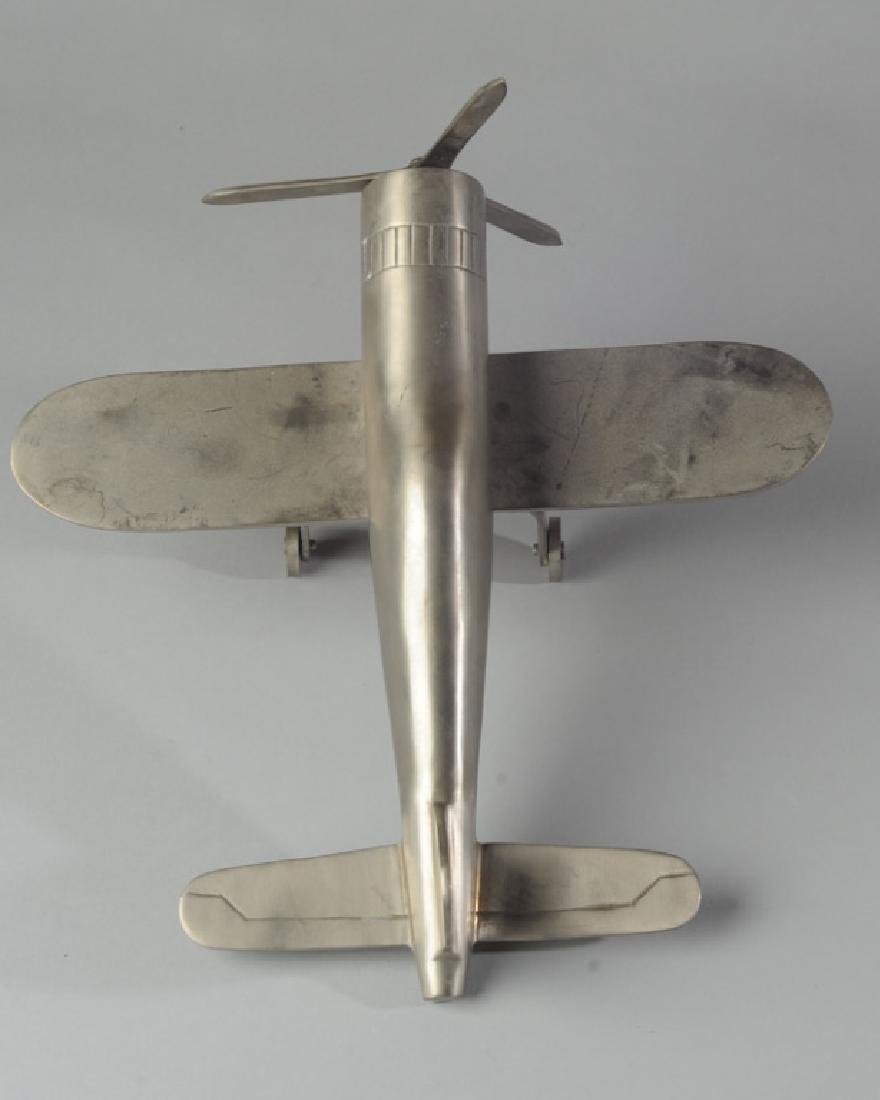 Vintage Metal Shop Project Toy Plane - 3