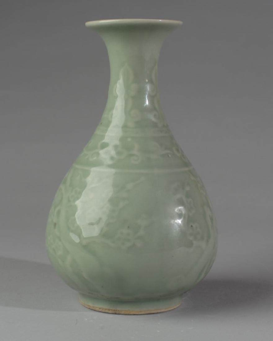 Chinese Porcelain Celadon Vase