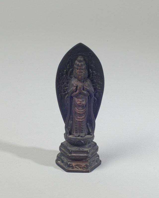 Chinese Antique Bronze Figure of Kwan Yin