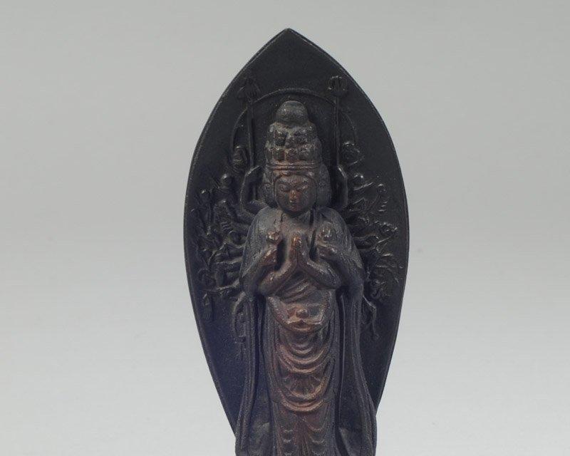 Chinese Antique Bronze Figure of Kwan Yin - 2