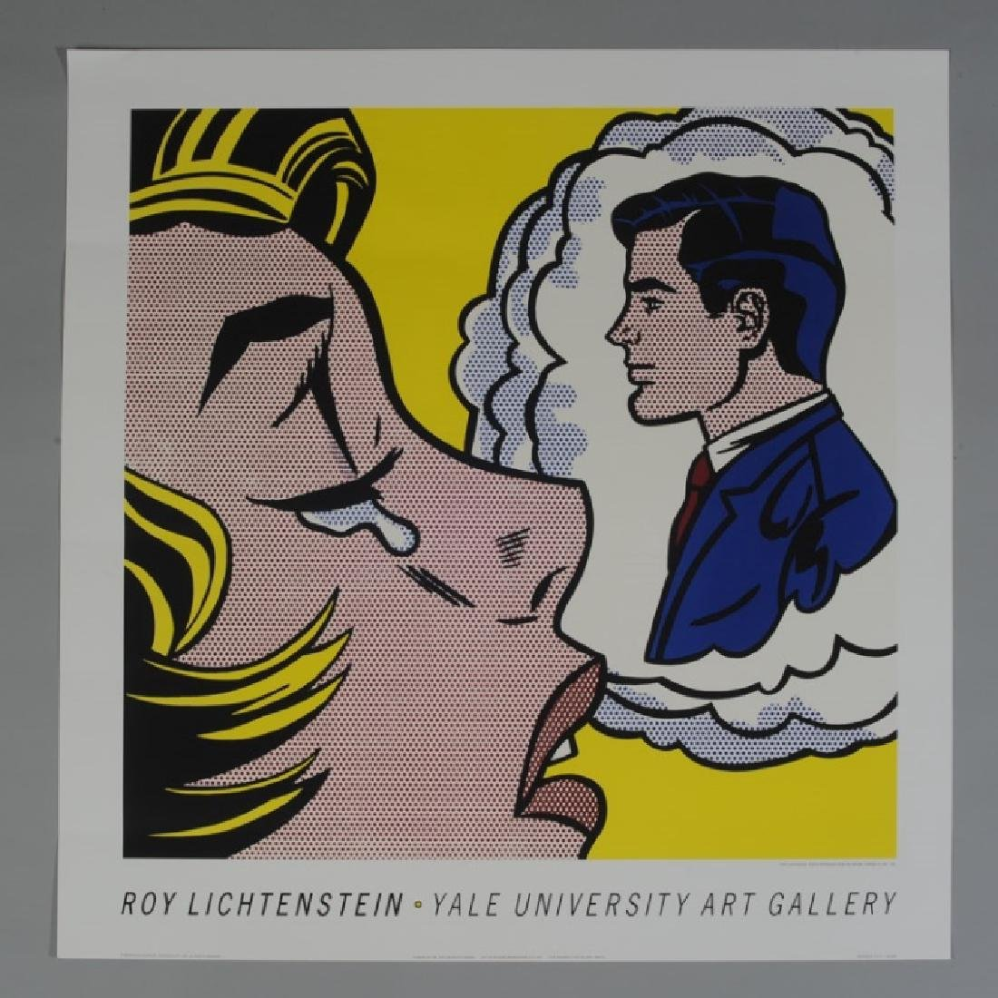 "Roy Lichtenstein - ""Thinking of Him"""
