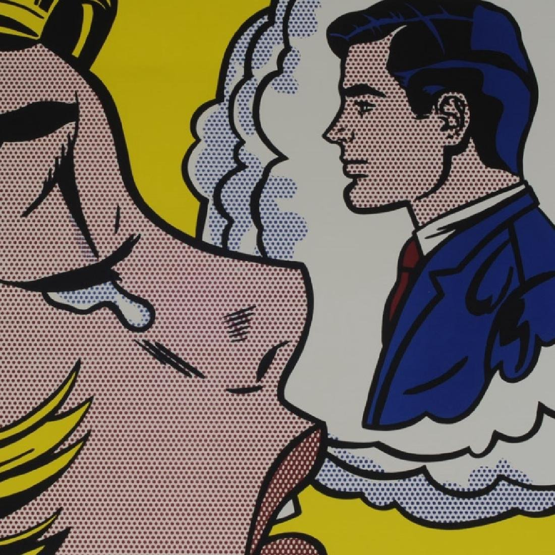 "Roy Lichtenstein - ""Thinking of Him"" - 2"