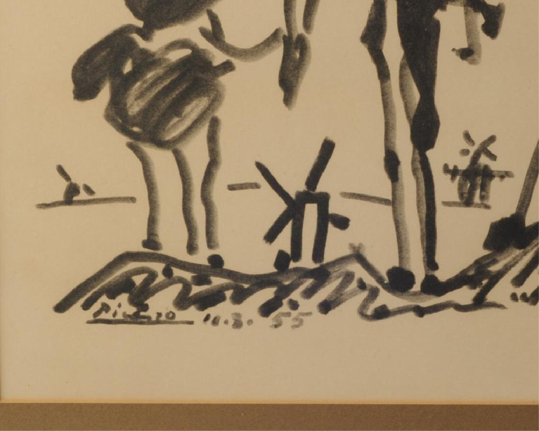 Pablo Picasso Vintage Print Don Quixote - 2