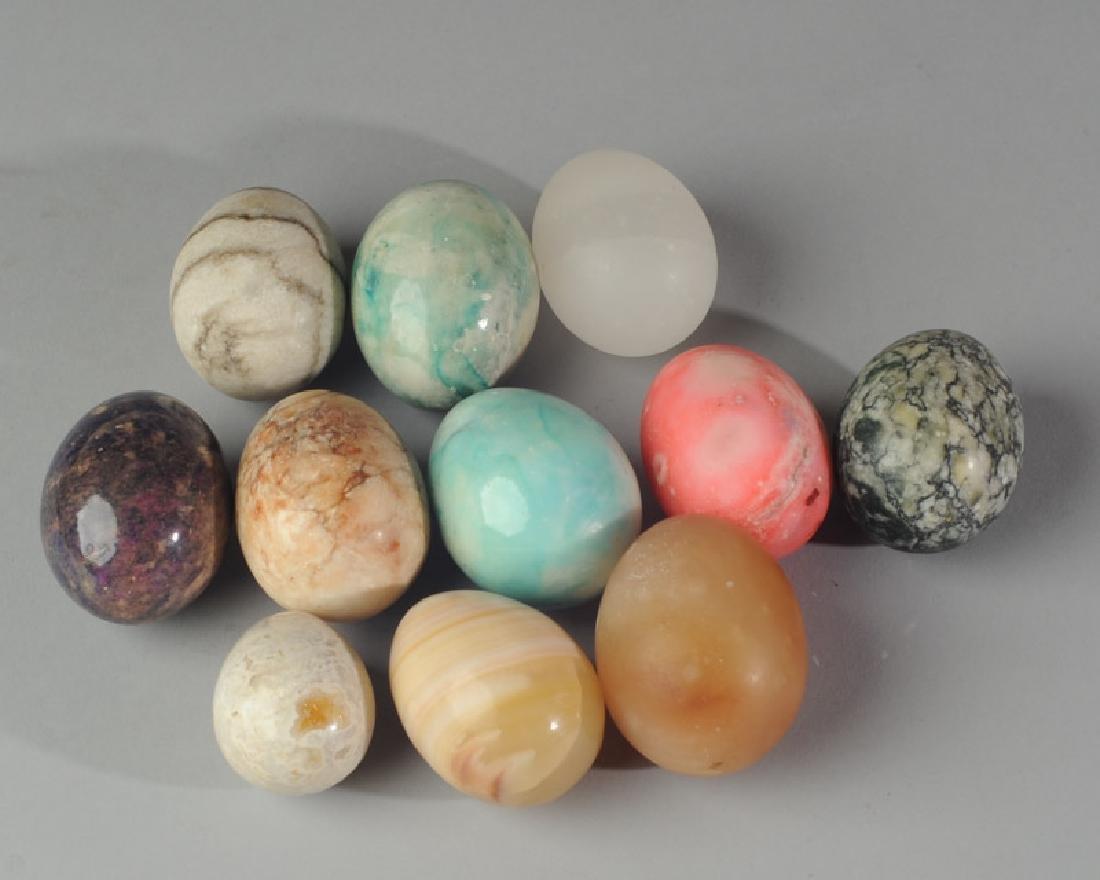 Lot of Alabaster Eggs