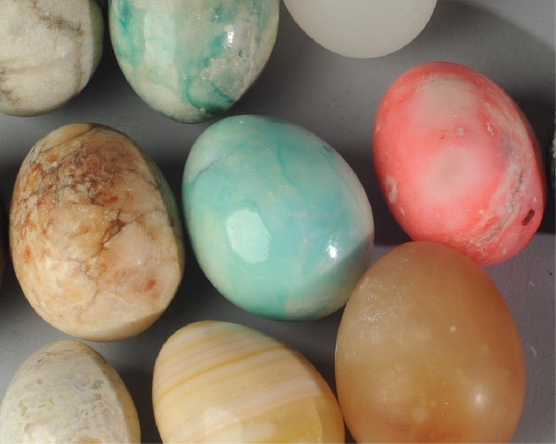 Lot of Alabaster Eggs - 2