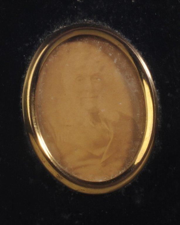 19th C. Portrait Miniature Photo