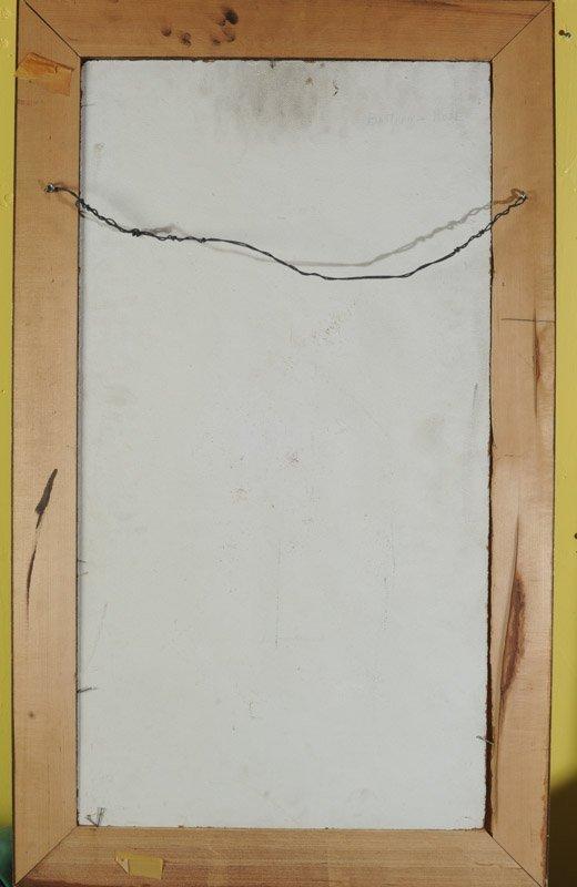 Oil on Masonite Male Nude - 4