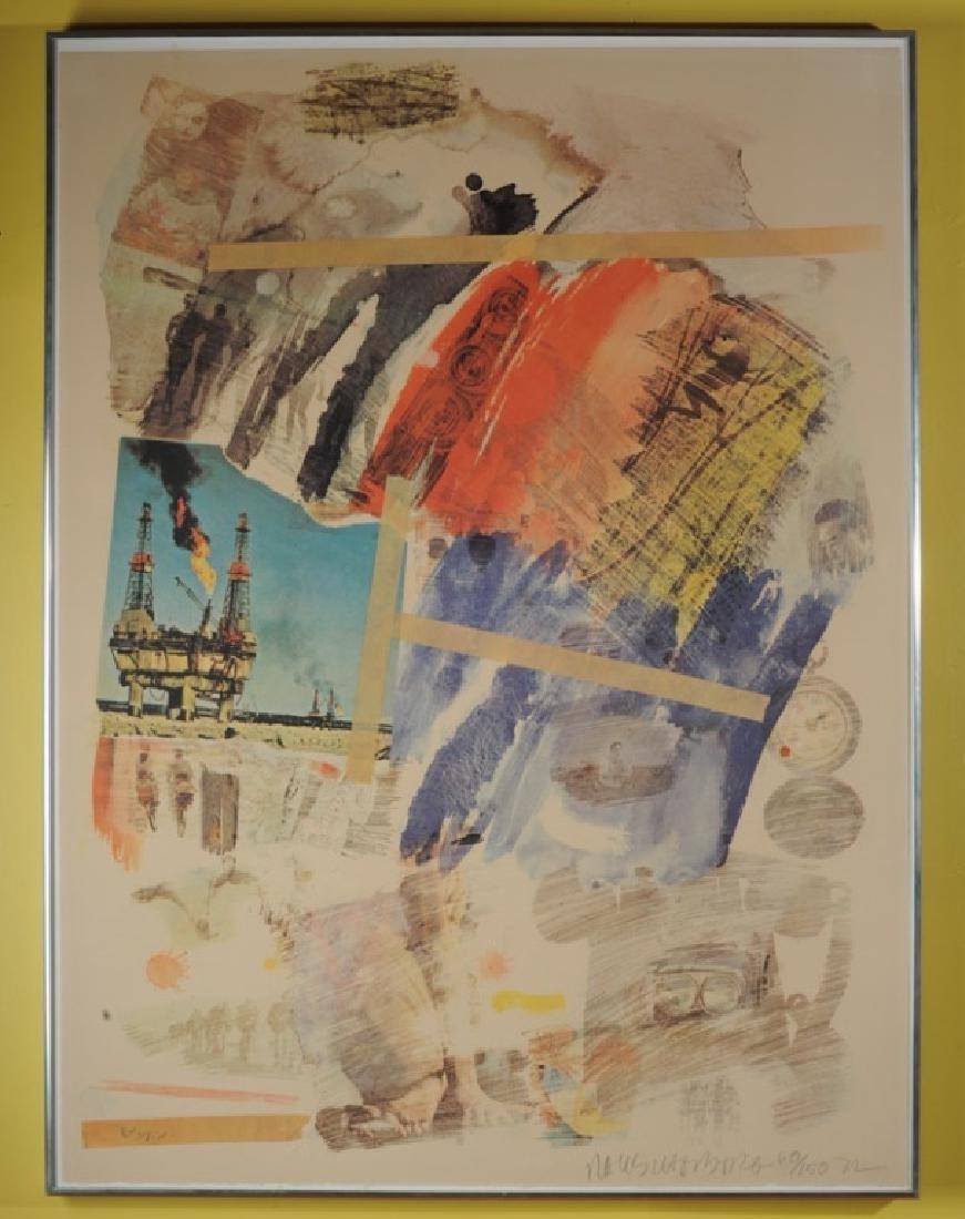 Robert Rauschenberg (1925-2008) Lithograph