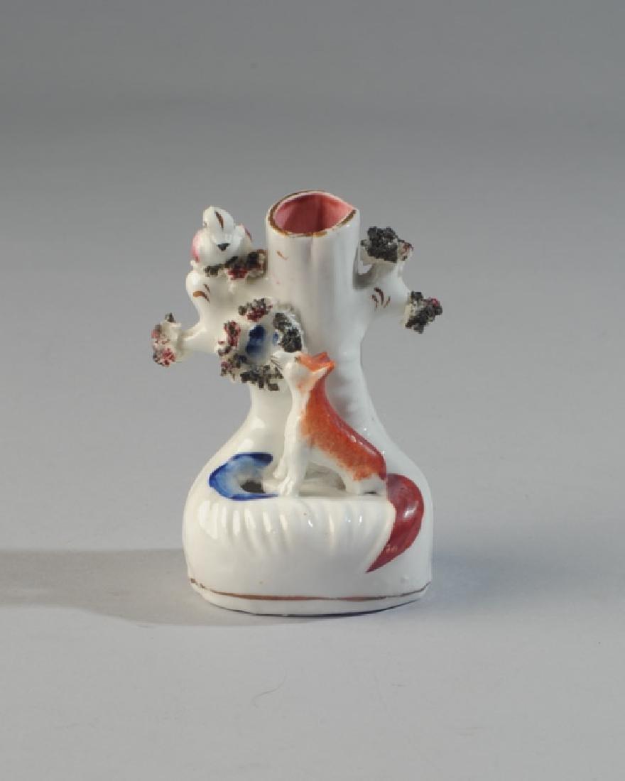 19th C. Staffordshire Spill Vase