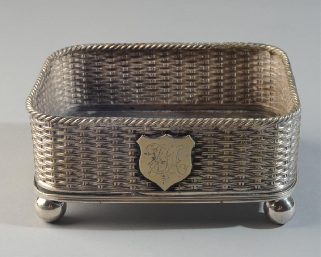 Mappin Bros. Silverplate Footed Container - 3