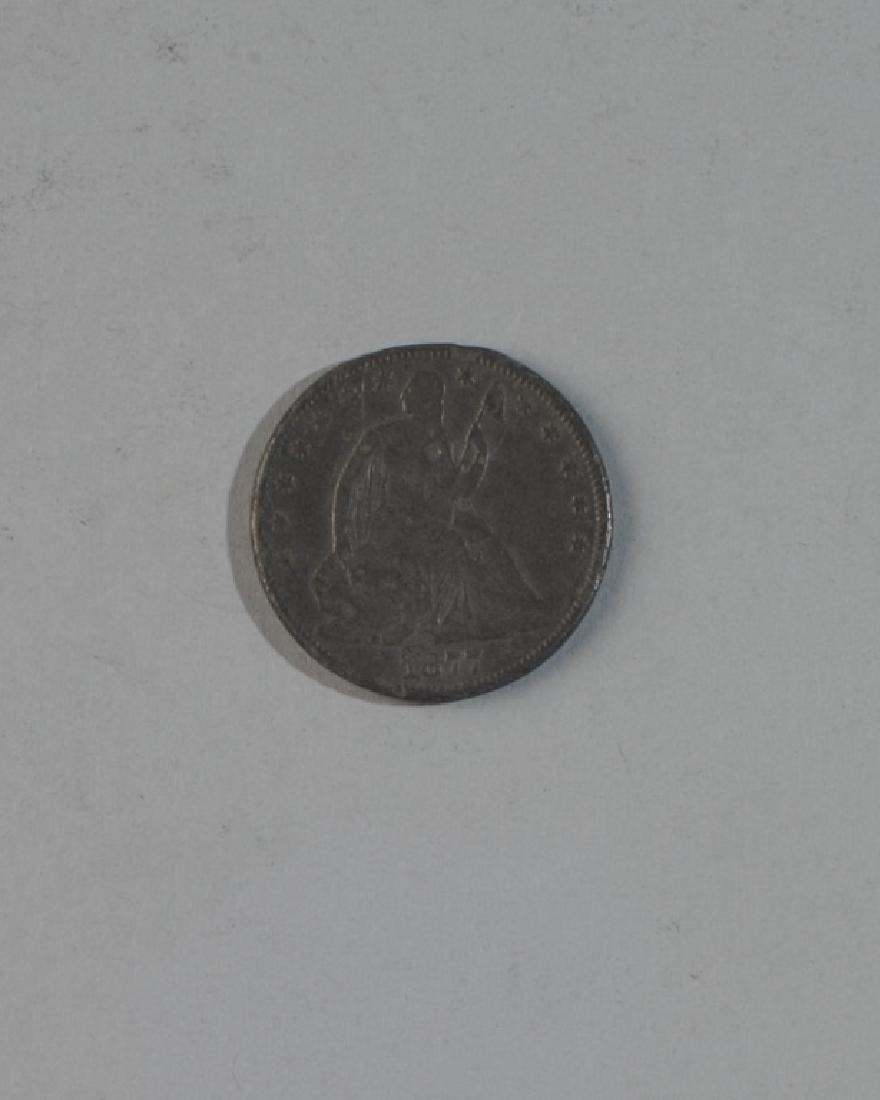 1877 Liberty Seated Half Dollar