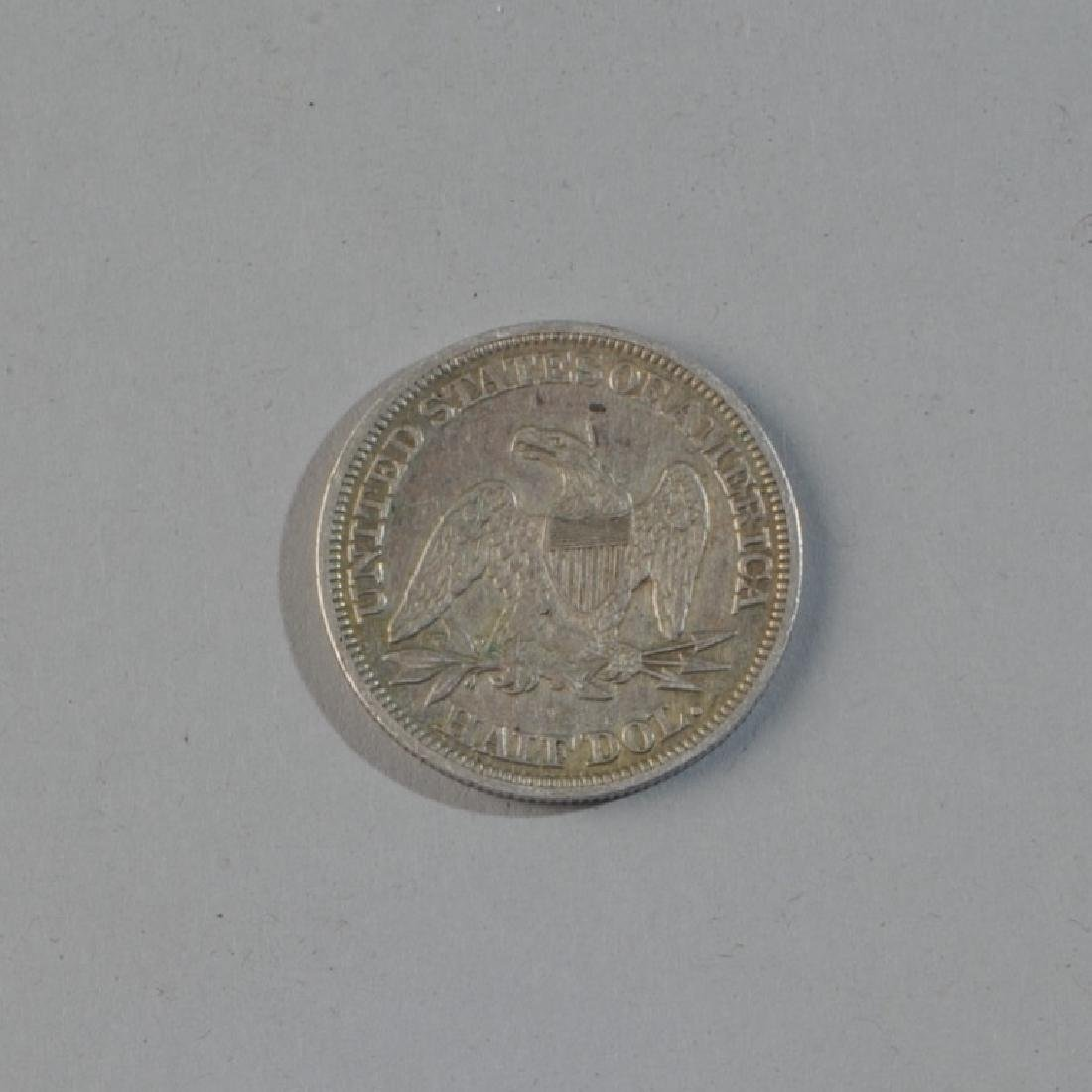 1843 Liberty Seated Half Dollar - 2