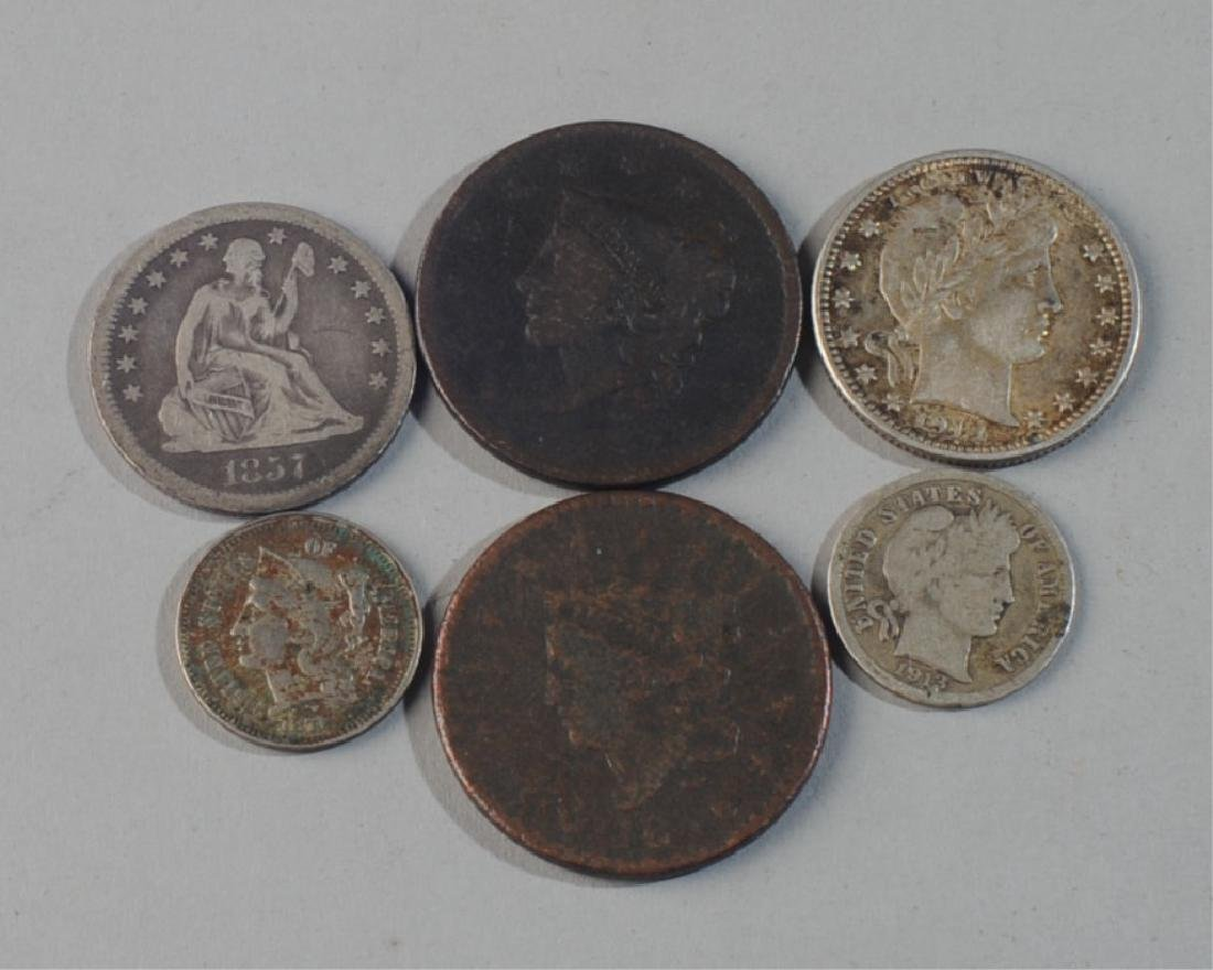 Lot Early U.S. Coins