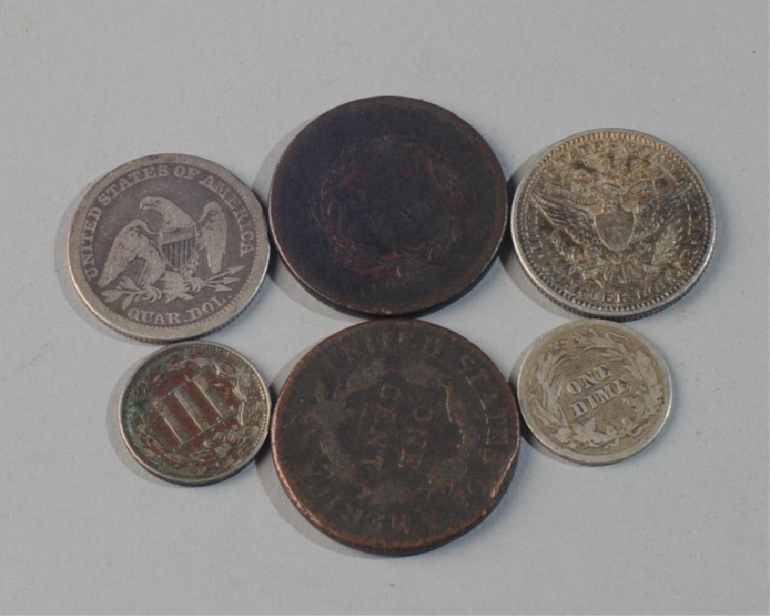 Lot Early U.S. Coins - 2