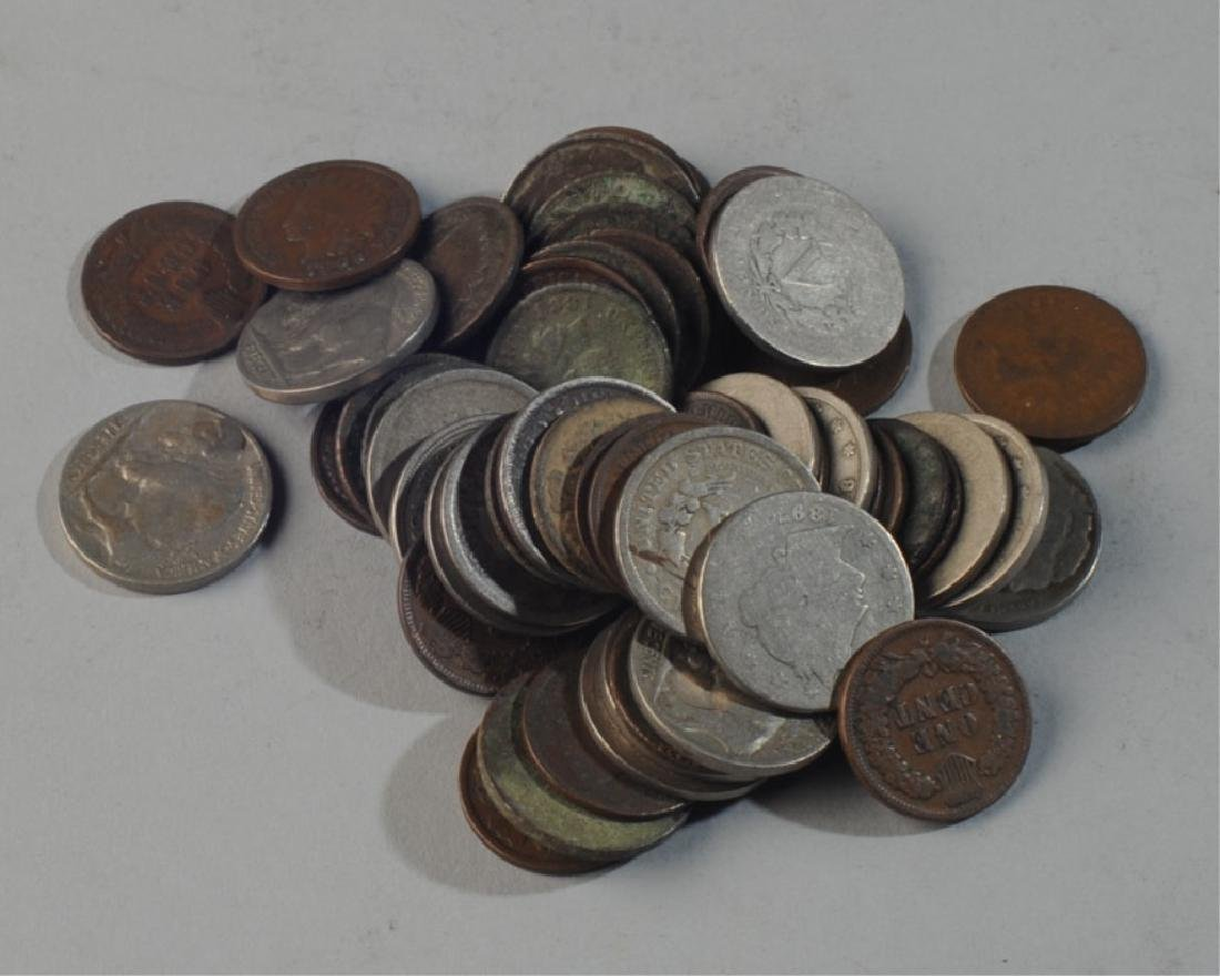 Lot Indian Head Pennies & Nickels