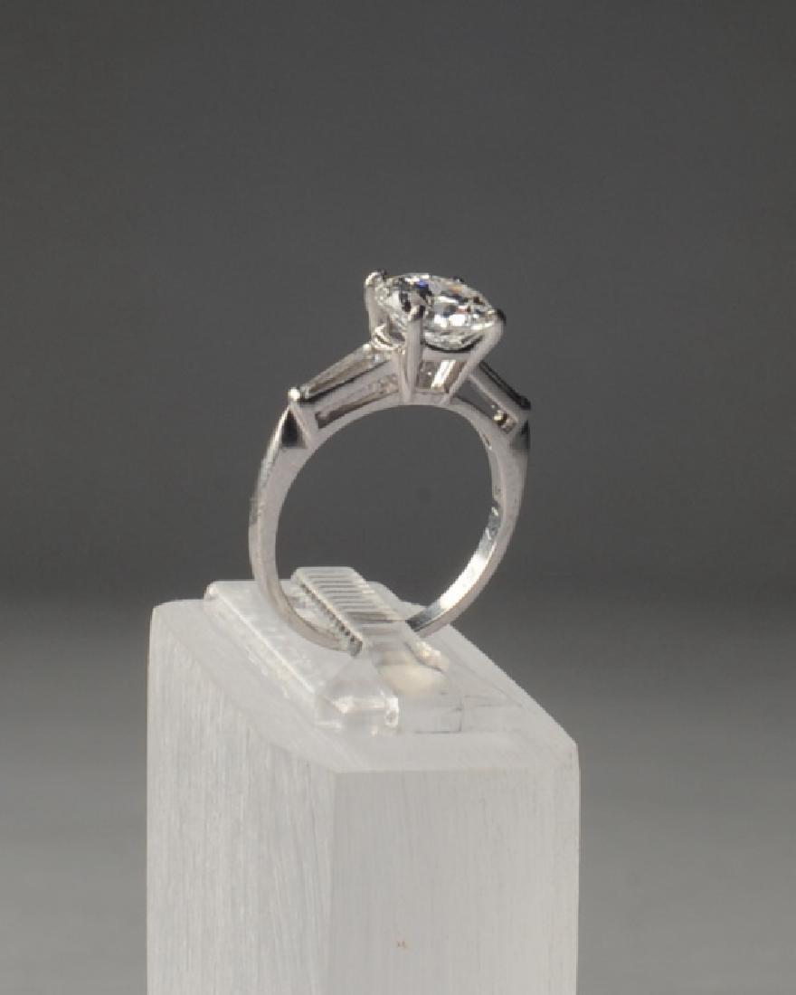 Lady's 2ct Diamond and Platinum Ring