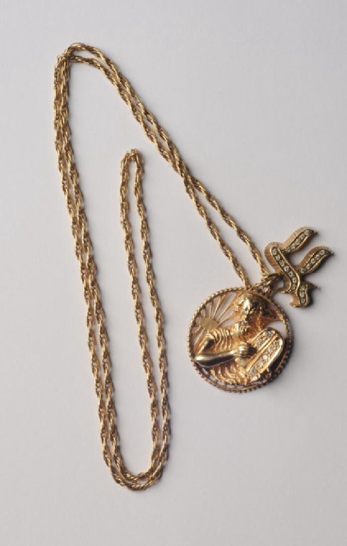 Gold pendants and chain moses chai symbol 14k gold pendants and chain moses chai symbol buycottarizona
