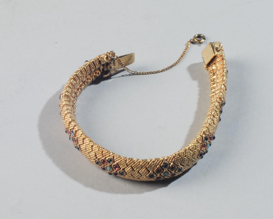 Ciner Gold-Plated Bracelet