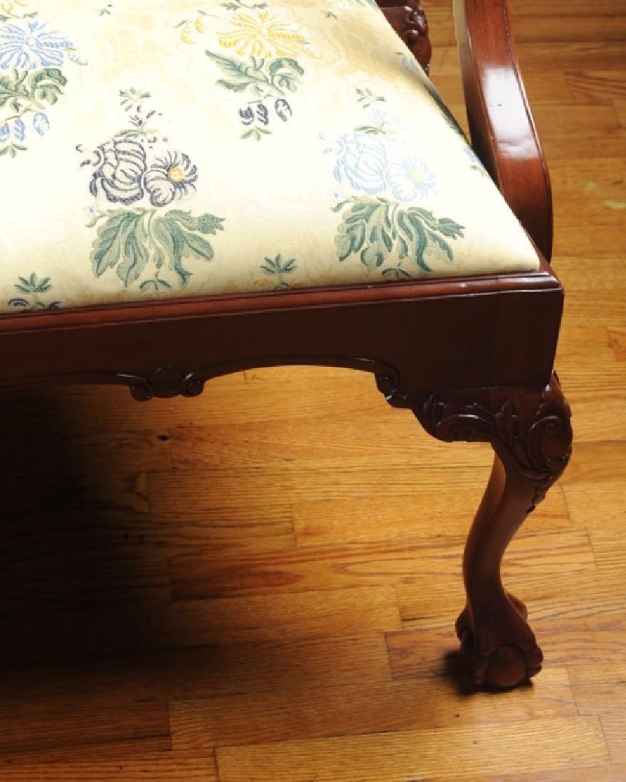 Set of 10 Georgian Style Mahogany Dining Chairs - 2