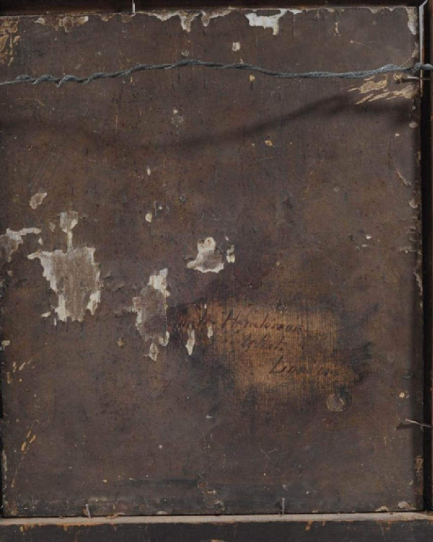 19th C. Oil on Panel of Gentleman - 3