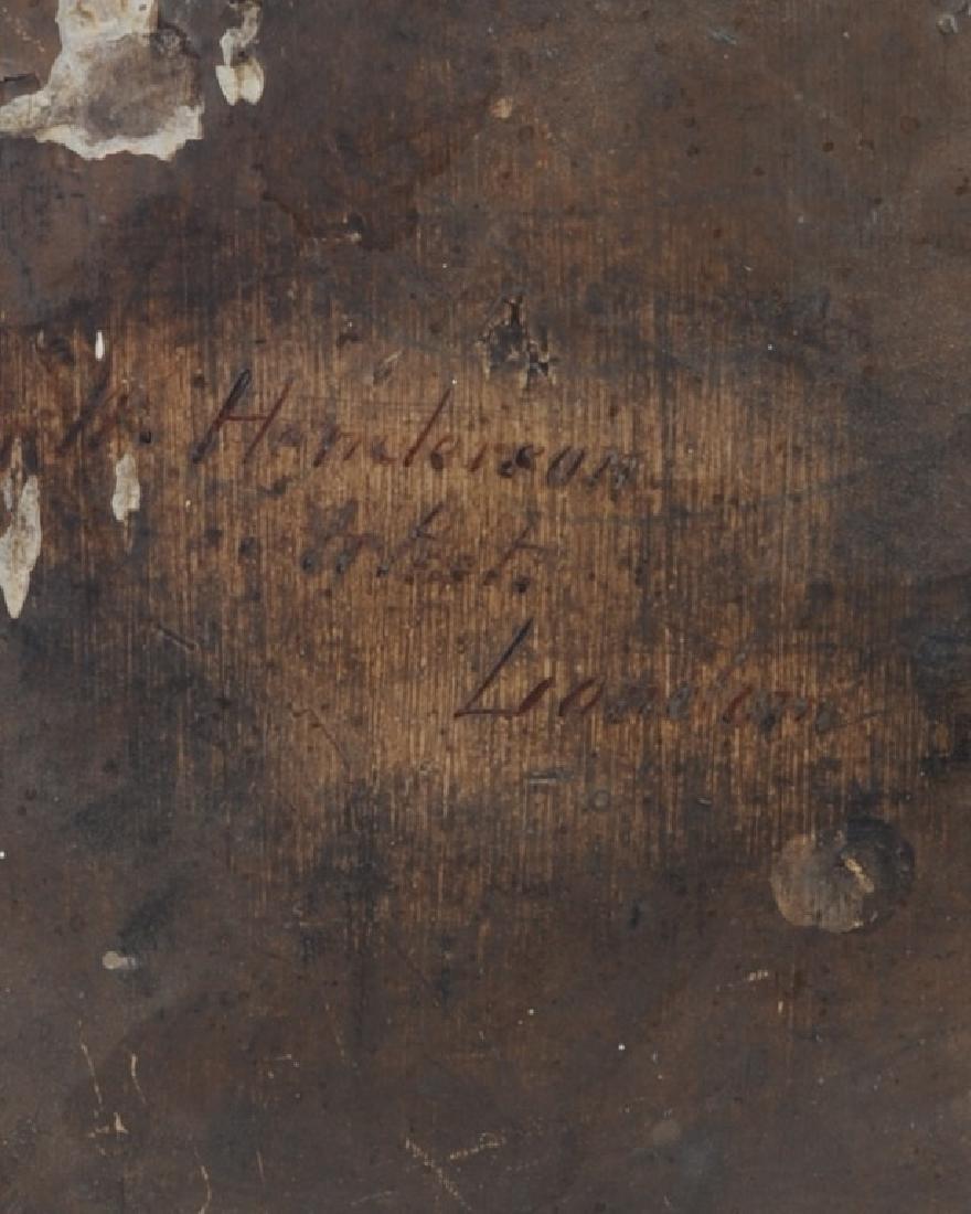 19th C. Oil on Panel of Gentleman - 4