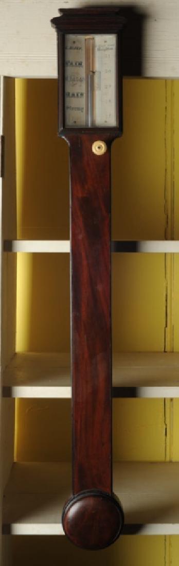 L. Dixey English Stick Barometer