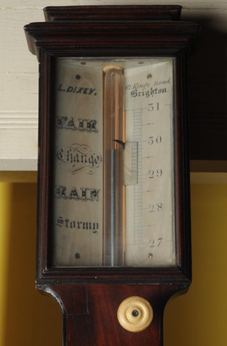 L. Dixey English Stick Barometer - 3