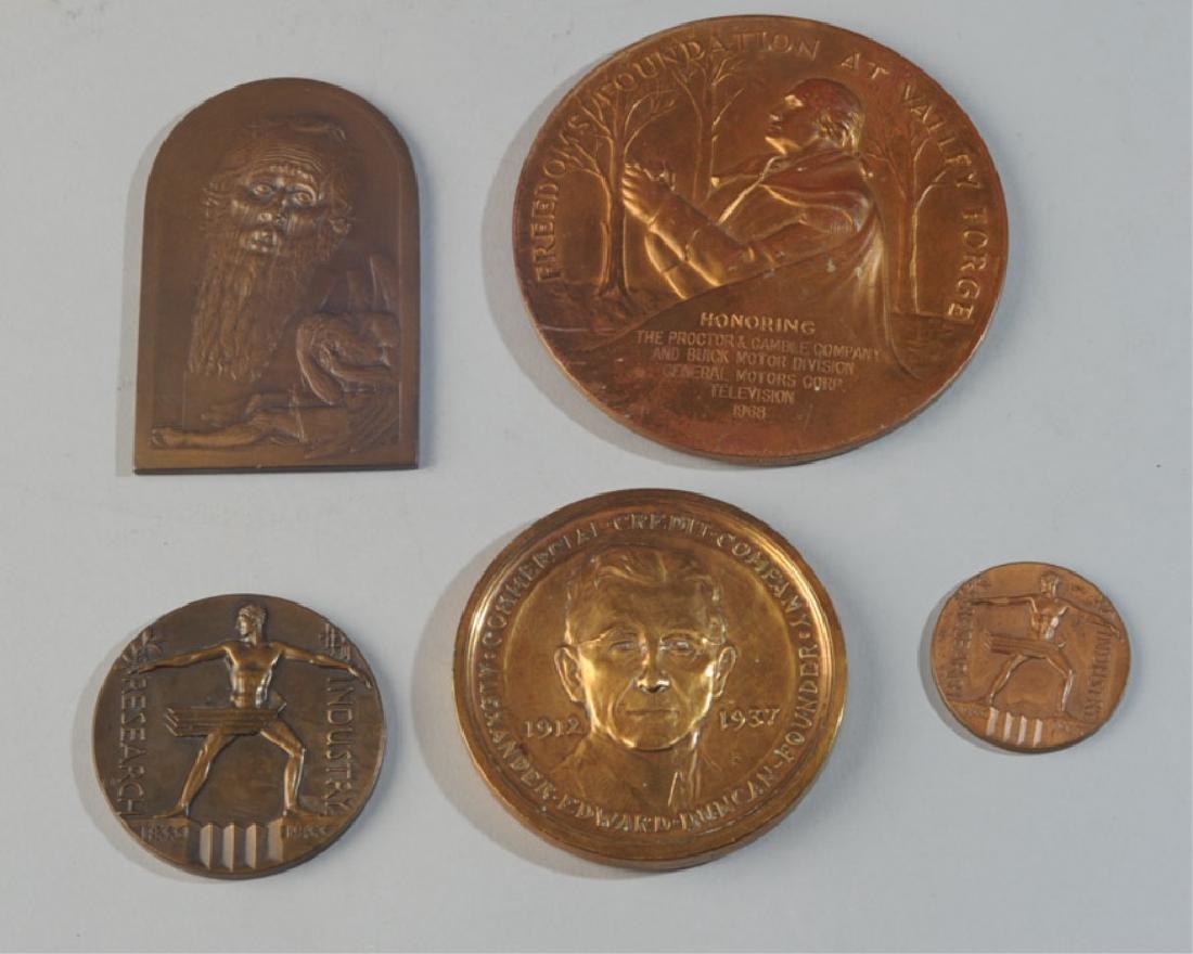5 Commemorative & World's Fair Medals