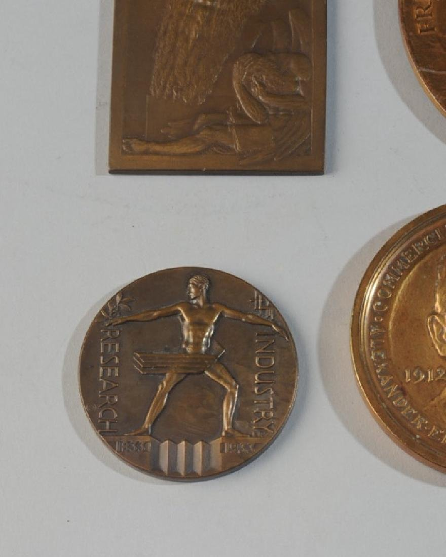 5 Commemorative & World's Fair Medals - 2
