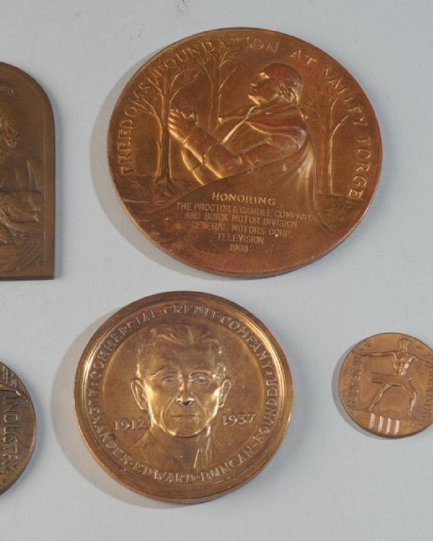 5 Commemorative & World's Fair Medals - 3