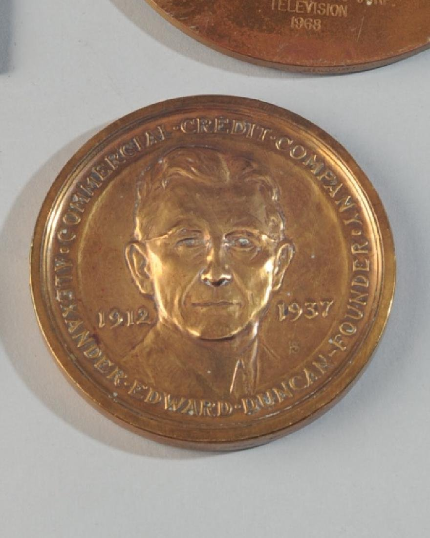 5 Commemorative & World's Fair Medals - 4