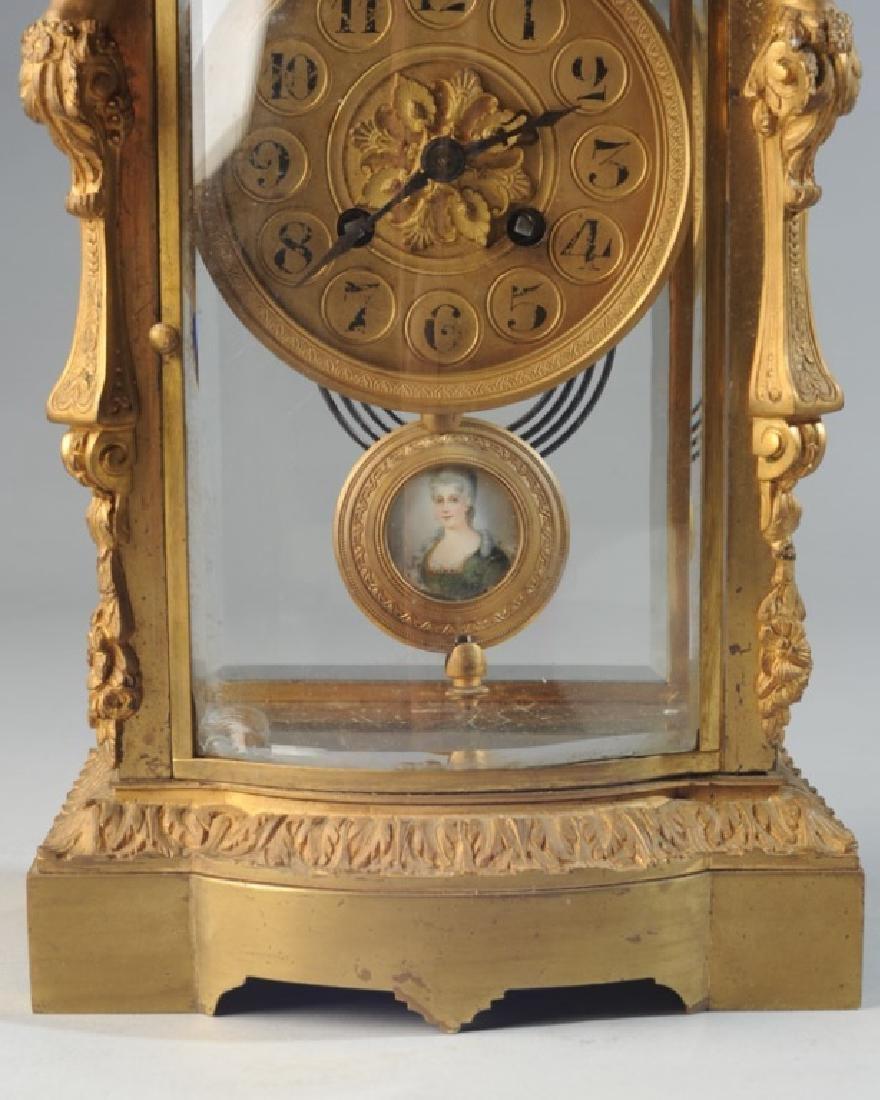 19th C. French H & H Mantel Clock - 3