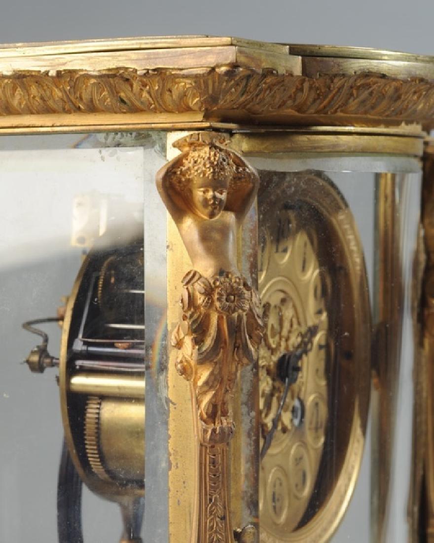 19th C. French H & H Mantel Clock - 5