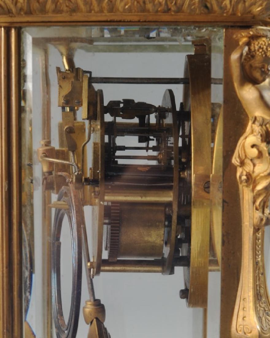 19th C. French H & H Mantel Clock - 6