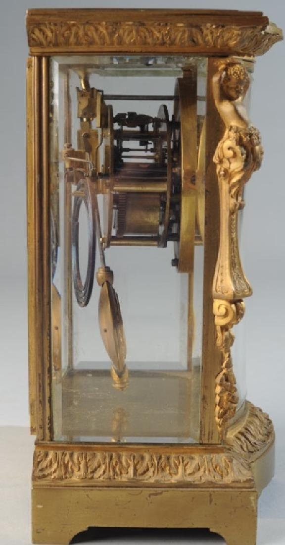 19th C. French H & H Mantel Clock - 7