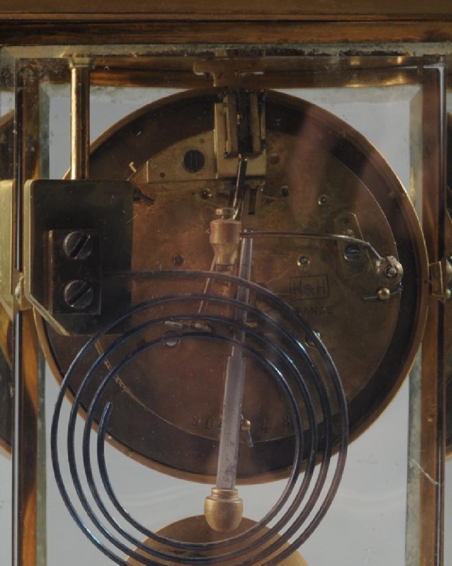 19th C. French H & H Mantel Clock - 9