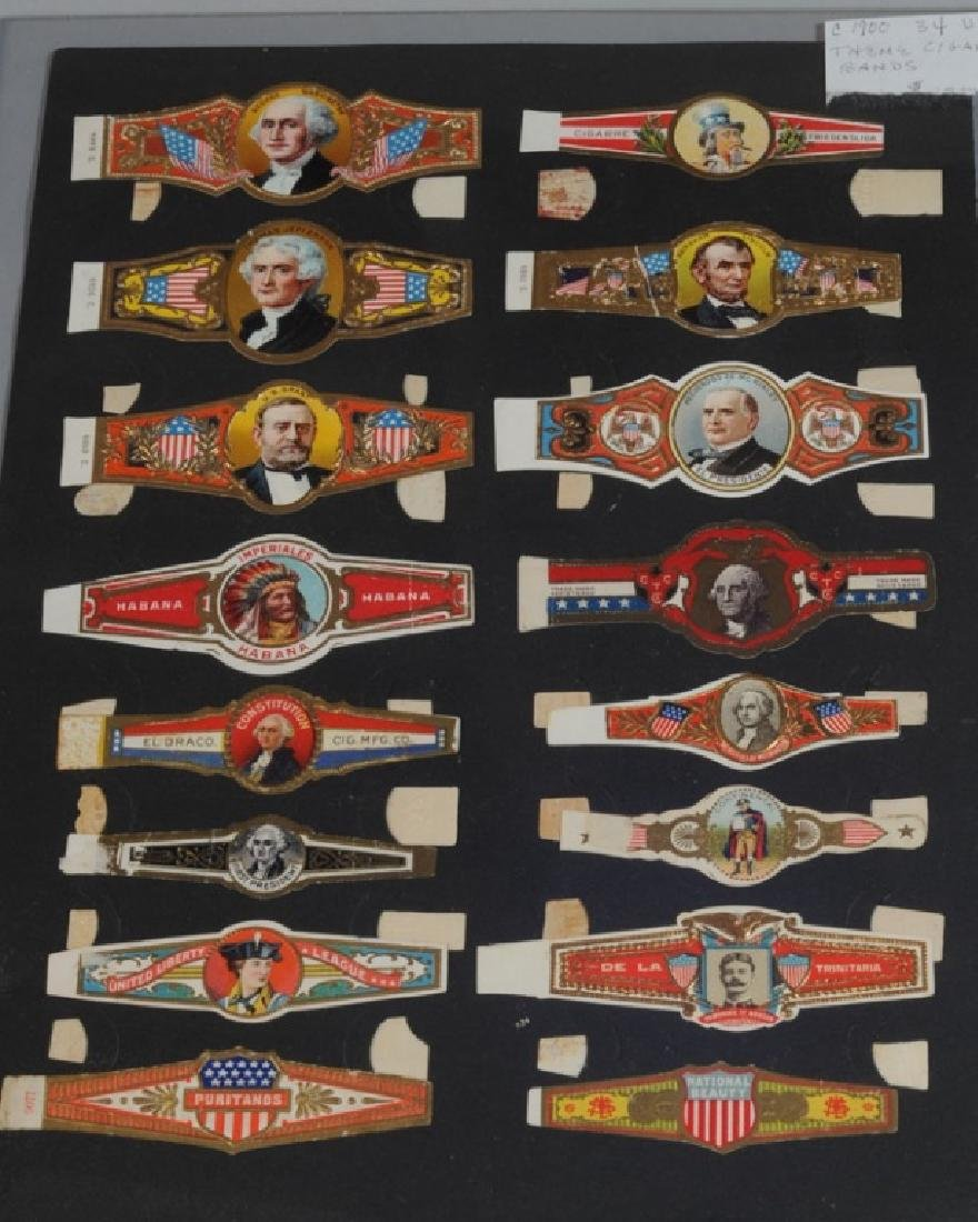 Large Lot Early Cigar Bands - 3