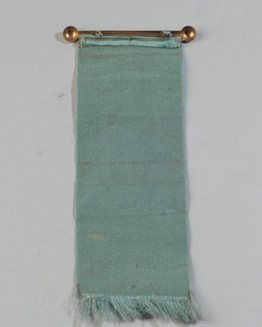 Mckinley Wheelmen 1896 Political Ribbon - 3